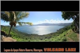 Laguna De Apoyo Nature Reserve, Nicaragua. Volcano Lake Postage Card 3268-16 - Postkaarten