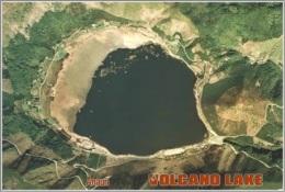 Lake Imuta-ike In Kagoshima, Japan . Volcano Lake Postage Card 3268-16 - Postkaarten