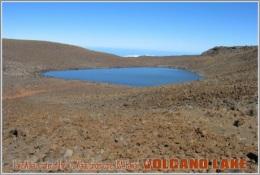Lake Waiau, Crater Of The Pu'u Waiau Cinder Cone, USA, Hawaii. Volcano Lake Postage Card 3268-16 - Postkaarten