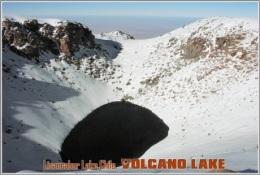 Licancabur Lake,Chile. Volcano Lake Postage Card 3268-16 - Postkaarten