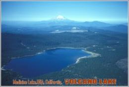 Medicine Lake,USA, California. Volcano Lake Postage Card 3268-16 - Postkaarten