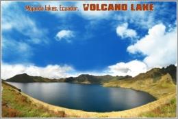 Mojanda Lakes, Ecuador. Volcano Lake Postage Card 3268-16 - Postkaarten