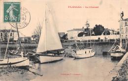 ¤¤   -   PLASSAC    -  Le Chenal   -  Bateaux , Voiliers   -  ¤¤ - France