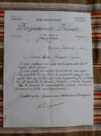 59 SIN LE NOBLE   BRASSERIE Deregnaucourt Delcourt  WWII Restriction - France
