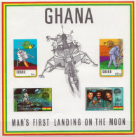 Ghana MNH Overprinted SS - Space