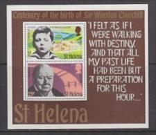 St. Helena 1974 Sir Winston Churchill M/s ** Mnh (19400A) - Sint-Helena