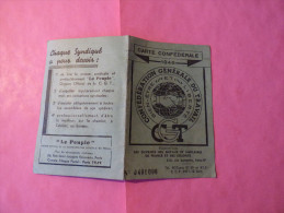 Carte Confédérale  1946 - Vieux Papiers