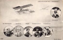 LES PILOTES DU SOMMER  DE PETROWSKY DAILLENS RIGAL LINDPAINTNER LEGAGNEUX - Aviatori