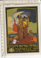 PO0199D# PUBBLICITA' EXPOSITION NATIONALE COLONIALE MARSEILLE 1922 - AFFICHE DAVID DELLEPIANE 1922  No VG - Publicité