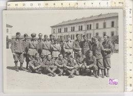PO0244D# MILITARI - CASERMA NOVI LIGURE - FOTOGRAFIA G.SCAGLIOLA - RICORDO Anni '30  No VG - Caserme