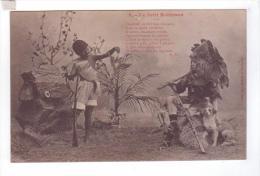 No 3 LE PETIT ROBINSON CRUSOE Fantaisie  Vendredi Chasseur Carabine  Fusil A.G - Contes, Fables & Légendes