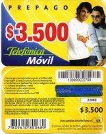 @+ Chili - Prepago Movil 3 500 $ - Chili