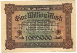 Eine Million Mark 1923 - [ 3] 1918-1933 : República De Weimar