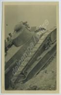 Un Char Au Camp De Mailly. 1922. - Guerre, Militaire