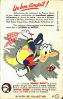 -BUVARD- état LUXE - Fond Enlevé Partiellement  Par Scan - Conserves Pompon Rouge - Journal De Mickey -DONALD - Food