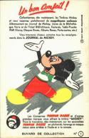 -BUVARD- état LUXE - Fond Enlevé Partiellement  Par Scan - Conserves Pompon Rouge - Journal De Mickey -mickey - Food