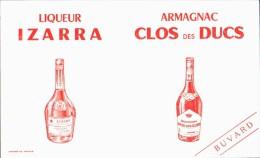 -BUVARD-  IZARRA Et  CLOS DES DUCS  état LUXE - Food