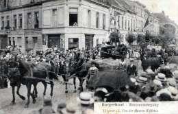 BORGERHOUT - Reuzenommengang, Seltene Karte Gel.1924 - Belgique
