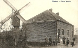 WODECQ - Le Vieux Moulin / Molen - Superbe Animation - Moulin à Vent à Farine - Edit. Franche-Buisson - Très Rare- 1922 - Ellezelles