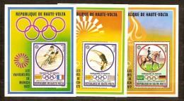 Haute-Volta Opper-Volta 1973 Yvertn° Bloc 5 ABC *** MNH Cote 18,50 Euro Sport Cyclisme équitation - Haute-Volta (1958-1984)