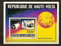 Haute-Volta Opper-Volta 1973 Yvertn° Bloc 5 E *** MNH Cote 6,00 Euro Mission Apollo XVII - Haute-Volta (1958-1984)