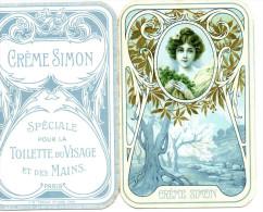 Calendrier De Poche 1911 CRÊME SIMON Superbe état - Calendriers