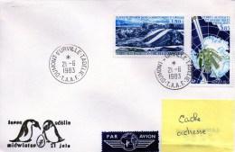 MIDWINTER 1983 - CAD DUMONT D´URVILLE 21 Juin 1983 - Terres Australes Et Antarctiques Françaises (TAAF)