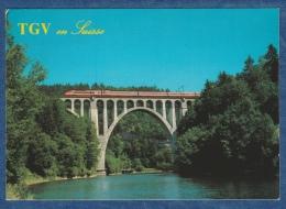 SBB CFF / SNCF - TGV En Suisse  - Train - Railway - Bahn - Trains
