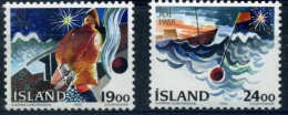 ISLANDE 1988 YVERT  N°648/49 LUXE ** MNH - Ungebraucht