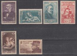 France (1938-40) Y/T N° 378 + 419 + 421 + 428 + 446 + 454 Neufs * à 10% De La Cote - Nuovi