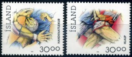 ISLANDE 1993 YVERT  N° 733/34 LUXE ** MNH - 1944-... Repubblica