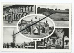 Carte - Sizun - L´Ossuaire - Un Coin De L´Elorn - L´Ossuaire Et L´Eglise - Interieur De L´Eglise-L´Arc De Triumph - Sizun