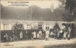 NOYELLES EN CHAUSSEE - Le Café Revel-Monflier - France