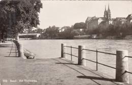 CPSM -  BASEL Am RHEINWEG  - SUISSE - BS Bâle-Ville