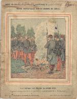 COUVERTURE CAHIER -RECITS PATRIOTIQUES SUR LA GUERRE DE 1870.71-LE SIEGE DE METZ .28 OCT - Buvards, Protège-cahiers Illustrés