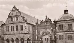CPSM -  BUCKEBURG  - SCHLOBTOR MIT HOFKAMMERGEBAUDE - ALLEMAGNE - Bueckeburg