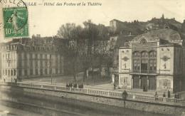Tulle Hotel Des Postes Et Le Theatre - Tulle