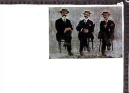 CO-2653 DIRIGENTI DEL CALCIO ITALIANO VALVASSORI FERRERO DI VENTIMIGLIA E VITTORIO POZZO - Autres