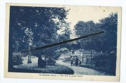 CPA - Le Cateau - Vue Dans Le Jardin Public - Le Cateau