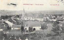 Arches (Vosges) - Vue Générale - Avec Aéroplane - Edition A. Bouteiller - Arches