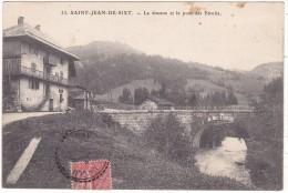 33.  SAINT-JEAN-DE-SIXT.   -  La  Douane  Et  Le  Pont  Des  Etroits. - France