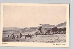 Afrique (Lesotho ) LESSOUTO Aux Abords Du Village (Editions : Du Dépôt Du Livre Morija  N°16)*PRIX FIXE - Lesotho