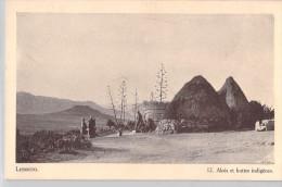 Afrique (Lesotho ) LESSOUTO Aloès Et Huttes Indigènes (Editions : Du Dépôt Du Livre Morija  N°12)*PRIX FIXE - Lesotho