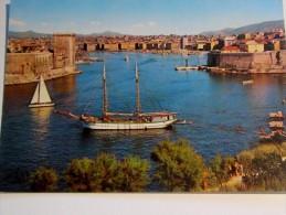 Marseille , Entrée Du Vieux Port , Prise Des Jardins Du Pharo , Bateau Voiliers - Segelboote