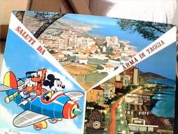 WALT DISNEY PAPERINO  TOPOLINO E PLUTO IN AEREO DA ARMA DI TAGGIA    VB1979  ER13927 - Disney
