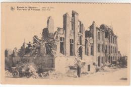 Nieuwpoort, Nieuport Hotel De Ville - Ruines (pk15843) - Nieuwpoort