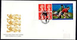 A0254 GB 1999, Rugby World Cup, Belfast - Brieven En Documenten