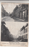 Nieuwpoort, Nieuport Rue Du Marché Avant Et Apres Le Bombardement (pk15862) - Nieuwpoort