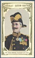 Chromo Chocolat Guerin-Boutron Livre D´or Célébrités Contemporaines 420 Général Bailloud élève Saint Cyr Chine WW1 - Guerin Boutron