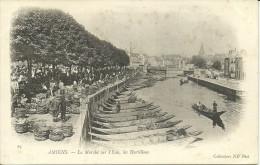 AMIENS - Le Marché Sur L'eau, Les Hortillons                           -- ND 65 - Amiens